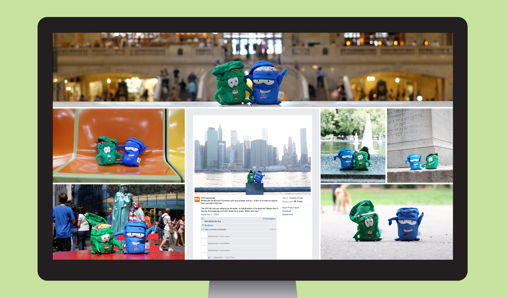 "Vanguard - NYC Recycles ""We Are New York"" Social Media Engagement for the NYC Department of Sanitation"