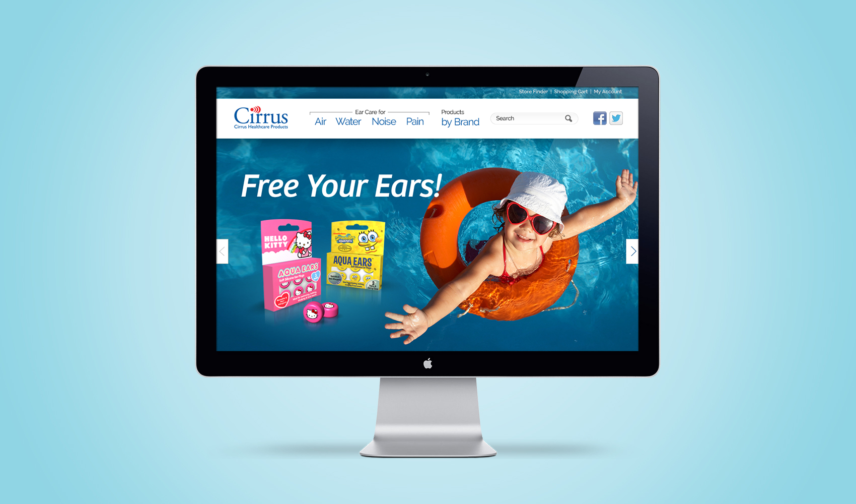 Vanguard - Brand Strategy & Website Redesign for Cirrus / Free Your Ears
