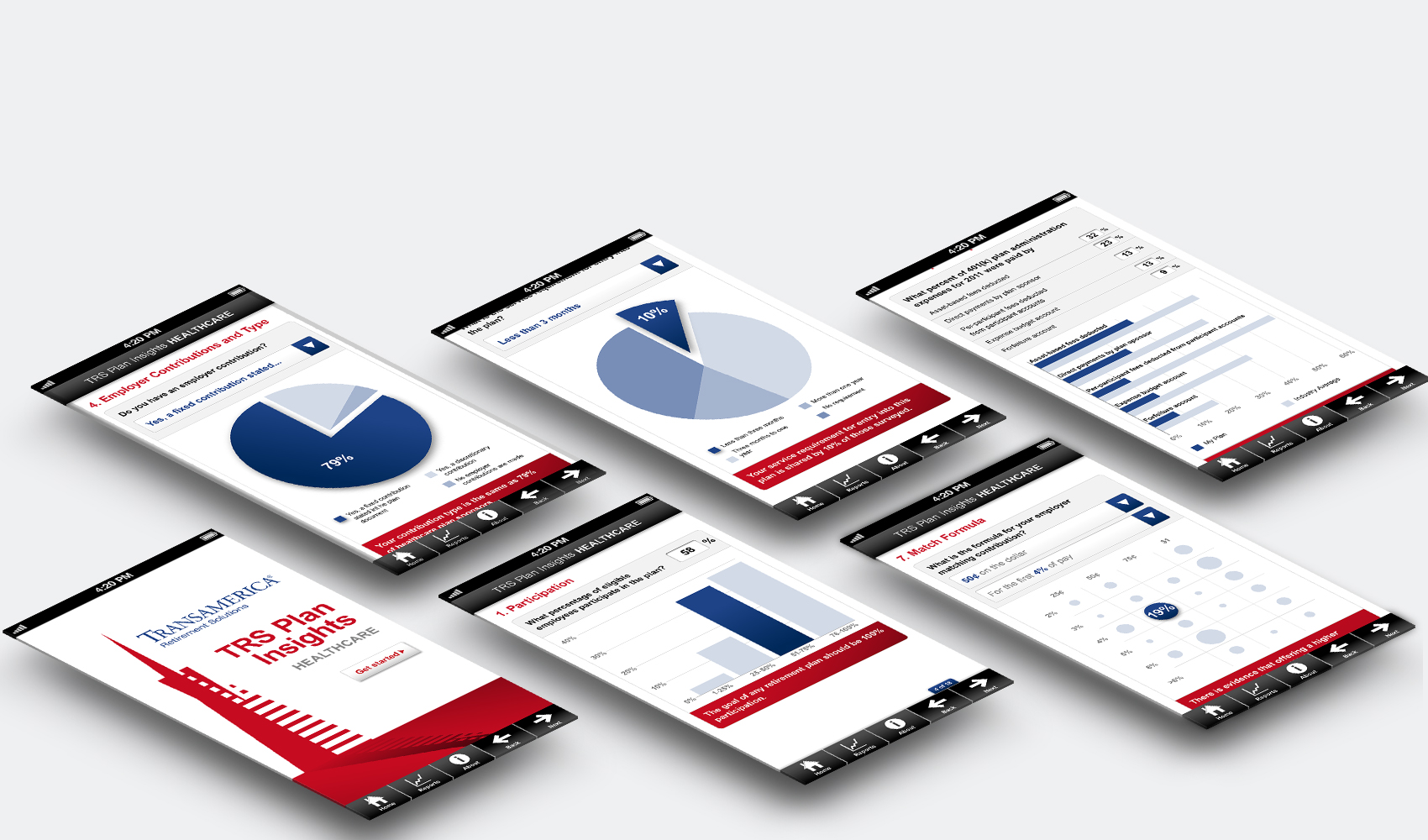 Vanguard - Mobile Application Development for Transamerica