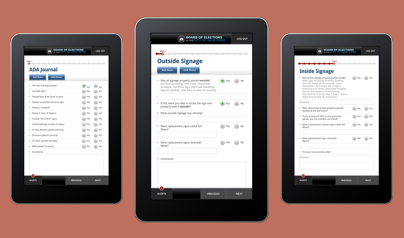 Vanguard - Poll Site Reporting & Locator Apps for NYC Board of Elections