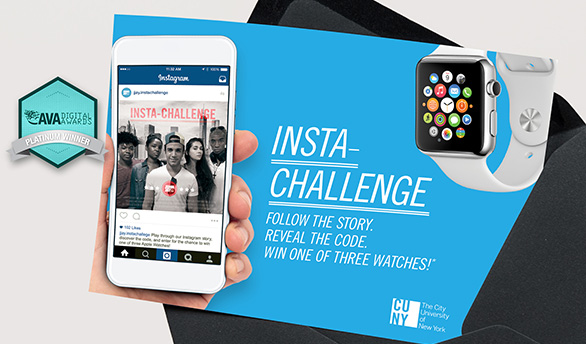 "VGD - ""Choose Your Own Adventure"" Instagram game for CUNY - John Jay College"