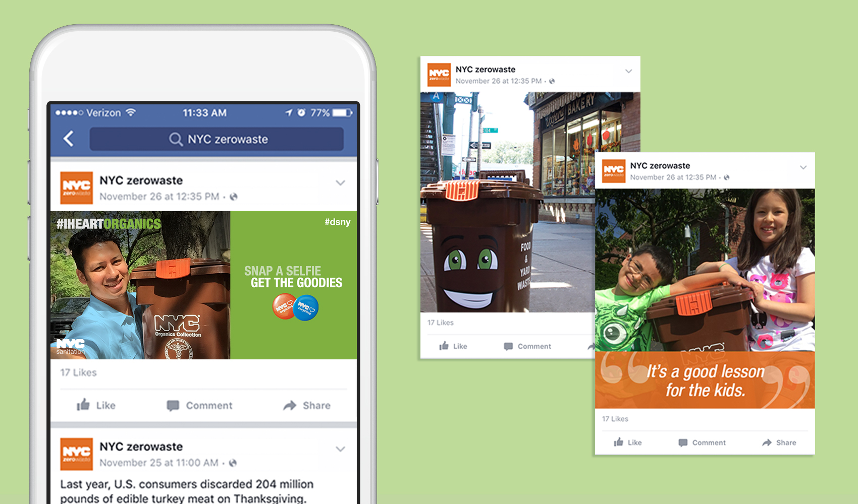 Vanguard - Geotargeted Social Media Campaign for the NYC Department of Sanitation