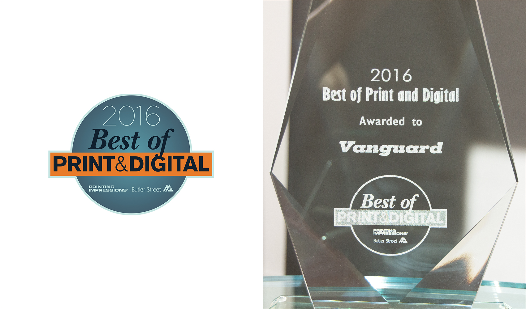 Vanguard - Best of Print and Digital Award