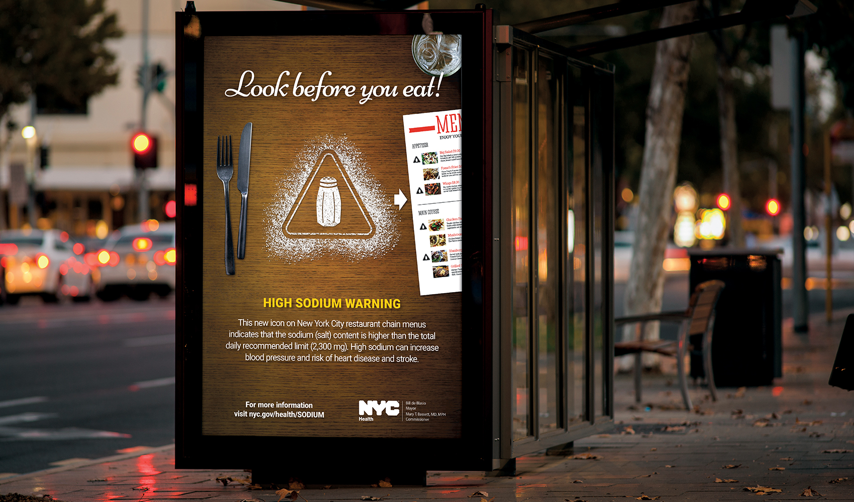 NYC DOH Sodium Warning Campaign - Case Study 01