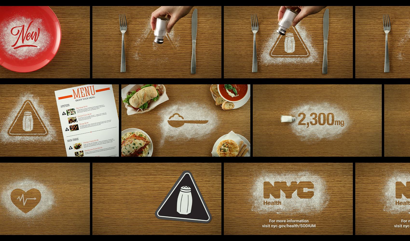 NYC DOH Sodium Warning Campaign - Case Study 02